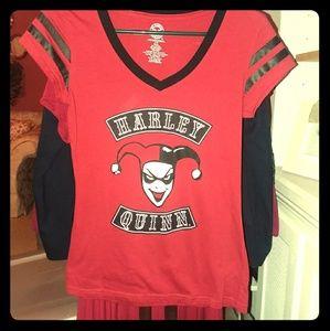 Tops - DC Harley Quinn Shirt